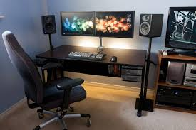 Best Of Computer Desk For Two Monitors Ceciliagalera Com