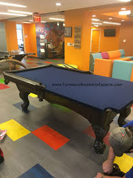 Pool Table Disassembly by Billiard Pool Table Disassembly Moving Relocation Call 240
