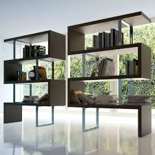 room divider studio apartment modern bookcase dividers marvelous