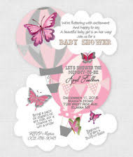 butterfly invitations butterflies baby shower greeting cards and invitations ebay