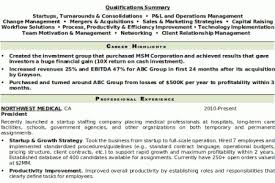 Top Management Resume Samples by Top Notch Resumes Samples Reentrycorps