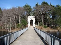 memorial bridge entrance to island grove park abington ma