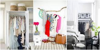 Ideas For Small Bedrooms Storage Ideas For A Bedroom Without A Closet Genius Clothing