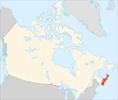 Map Of Nova Scotia Location Of Nova Scotia Canada U2022 Mapsof Net