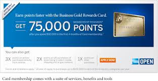 Business Gold Rewards Card From American Express Frequent Flyer Bonuses One Day Only 75 000 Membership Rewards