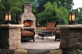 Firepit In Backyard Landscaping With Pit Central Patio Paver Pit Kits