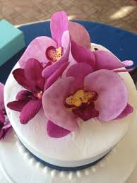 orchid wedding cake kathryn u0027s cake shoppe