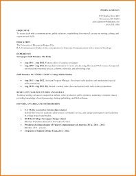 Good Resume Examples For College Students by Useful Resume Examples College Students For Your Good Resume