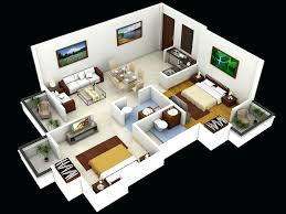 modern house 3d floor plans imagesimple design laferida com