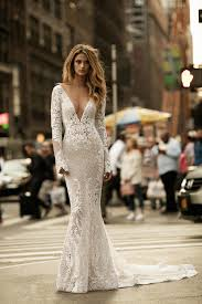 plunging neckline wedding dress 9 types of necklines which look the best with sleeve wedding