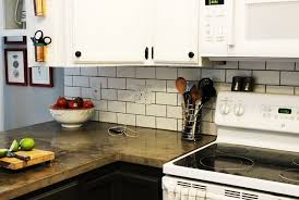 install tile backsplash kitchen remarkable installing subway tile backsplash how to install