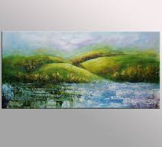 landscape painting large art canvas painting bedroom wall art categories