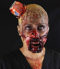 33 quirky zombie makeup ideas for a ghoulishly delightful