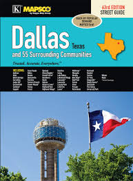 Dallas Tx Zip Code Map by Dallas Tx Street Guide Kappa Map Group 9780762588121 Amazon