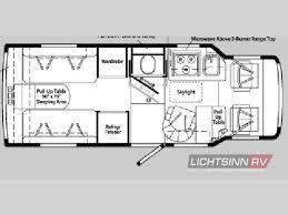 winnebago rialta rv floor plans used 2005 winnebago rialta 22 hd motor home class b at lichtsinn