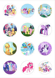 my pony cupcake toppers 611 best my pony printables images on pony