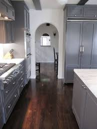 grey kitchen cabinets with brown wood floors grey kitchen cabinets floor our own home