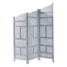 paravent chambre ado paravent en bois gris l 152 cm maisons du monde