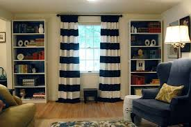 Nautical Striped Curtains Trend Of Blue And White Striped Curtains And Light Blue And White