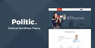 political wordpress themes from themeforest