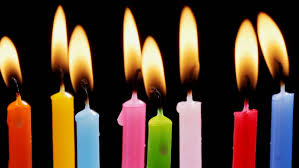 birthday candles burning time lipse stock footage video 17017855