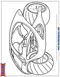 futuristic hyundai motorcycle coloring u0026 coloring pages