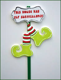 Outdoor Christmas Decorations Elves by Christmas Elf Yard Stake Outdoor Christmas Decoration Elf