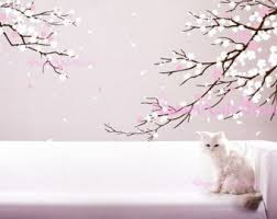 wall decal design japanese cherry blossom wall decal surprising