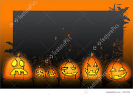 halloween design background halloween jackolantern background for halloween stock