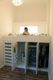 Bunk Beds With Dresser Underneath Awesome Loft Bed With Dresser Underneath Foter With Regard To Bed