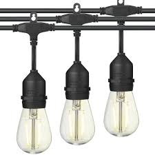 outdoor sockets for christmas lights led outdoor string lights e26 dropped sockets and hanging loops