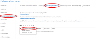 office 365 things you need to know data loss prevention u2013 welcome