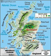 map of scotland and scotland map geography of scotland map of scotland