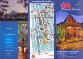 contoh desain brosur hotel contoh brosur hotel dengan desain rapi dan menarik desain dan