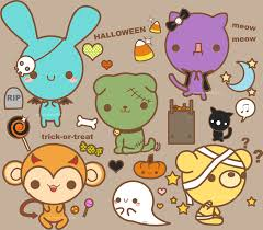 happy halloween cute pictures halloween stickerthings by pronouncedyou on deviantart