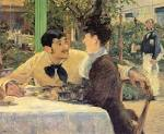 At Father Lathuille - Edouard Manet - WikiPaintings. - Downloadable