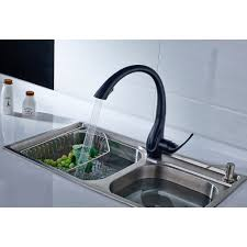 Black Pull Out Kitchen Faucet by Online Get Cheap Black Kitchen Tap Aliexpress Com Alibaba Group