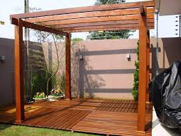 Swing Pergola by Attractive Back Deck Pergola Ideas U2014 All Home Design Ideas