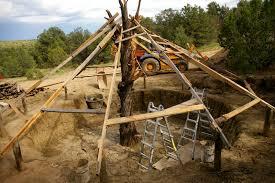 adaptations of pit house earth lodge hogan kiva natural
