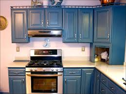 how to update an oak cabinet s kitchen 80 s smith design staining oak cabinets blue