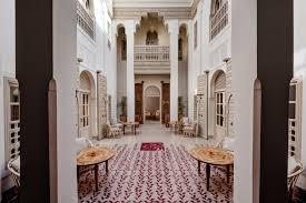 moroccan riad floor plan blog riad living