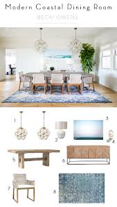coastal dining room table estillo project modern coastal dining roombecki owens