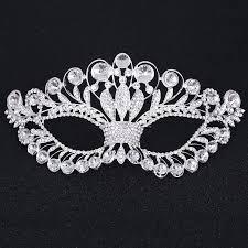 silver masks aliexpress buy women princess silver venetian masquerade