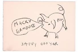famous artists send greeting cards wsj