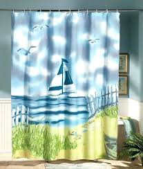 Themed Fabric Shower Curtains Shower Curtain Soundbubble Club