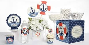 Nautical Baby Shower Decorations Unique Baby Shower Themes By Babyshowerstuff Com