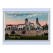 Home Expo Design Center San Diego Vintage 1915 Panama California Expo San Diego 1 Postcard