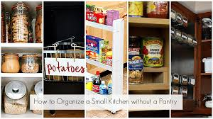 Organizing Kitchen Pantry - ways organize small kitchen without pantry homes alternative