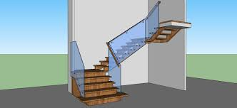 solid oak open riser modern stair renovation artistic stairs canada