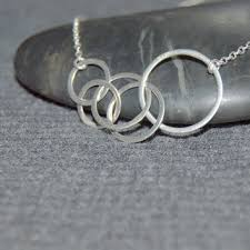 circle necklace silver sterling images Best sterling silver circle link necklace products on wanelo jpg